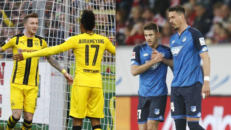 Dortmund có cơ hội tuyệt vời để chiếm vị trí thứ 3 của Hoffenheim
