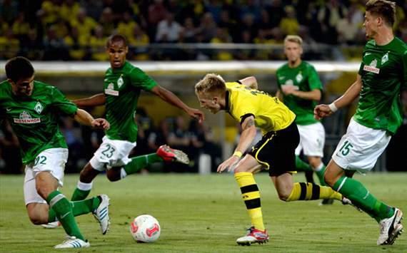 Dortmund vs Werder Bremen vòng 34