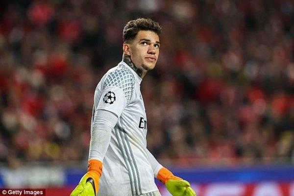Man City sẽ trả hơn 33 triệu bảng cho Benfica để đổi lại chữ ký của Ederson