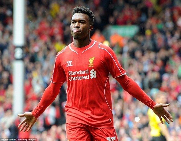 Liverpool định giá 40 triệu bảng cho Daniel Sturridge