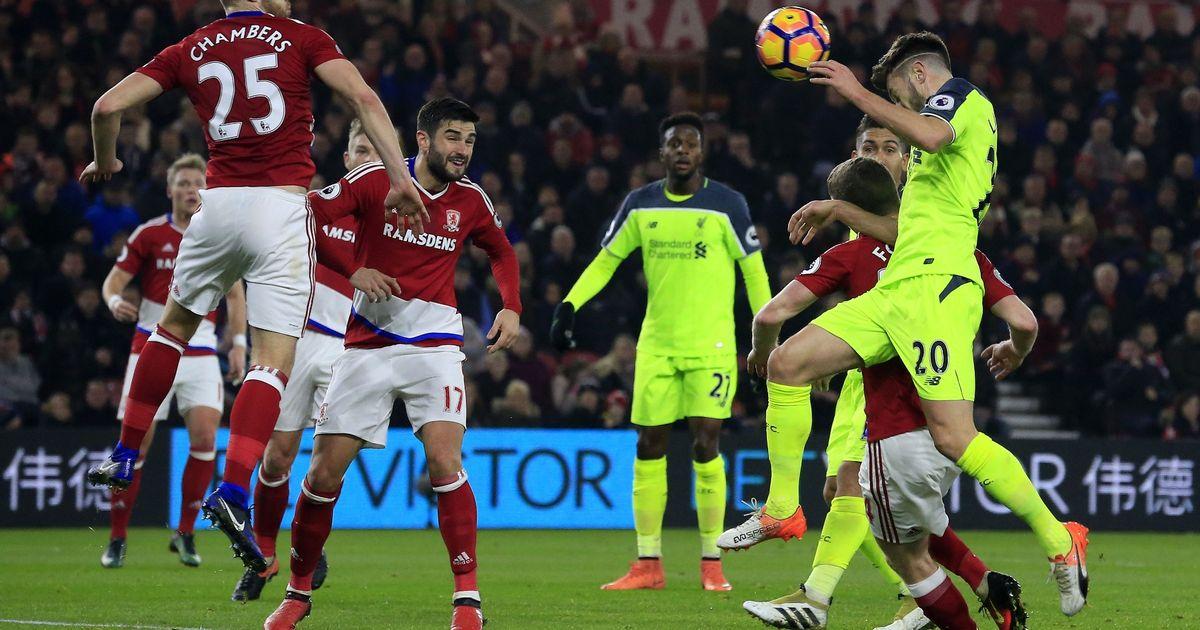 Liverpool vs Middlesbrough ngày 21/5/2017 vòng 38 giải Ngoại Hạng Anh
