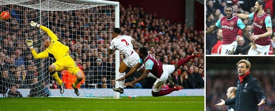 Liverpool vs West ham vòng 37 giải Ngoại Hạng Anh