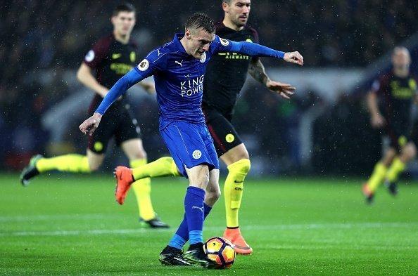 Man City vs Leicester  vòng 37 giải Ngoại Hạng Anh