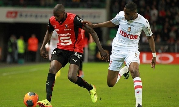 Monaco vs Rennes vòng 38 giải vô địch bóng đá Pháp.