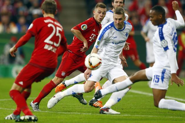 Bayern Munich vs Darmstadt ngày 6/5/2017 Vòng 32