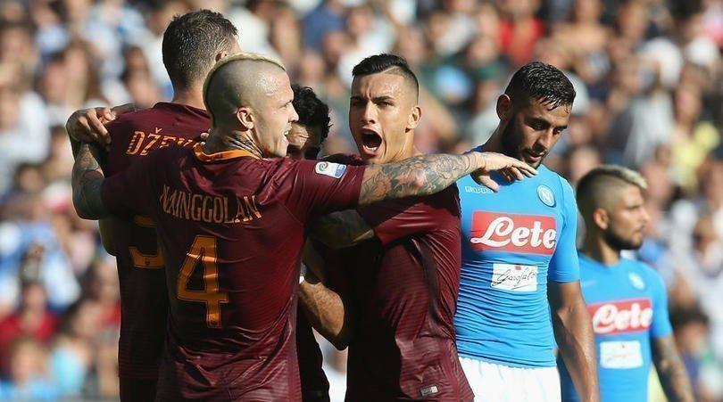 Roma và Napoli sẽ phải cạnh tranh nhau vị trí Á quân ở vòng cuối