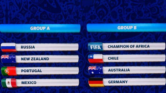 8 đội được chia thành 2 bảng đấu, 2 đội đứng đầu mỗi bảng sẽ giành vé vào bán kết