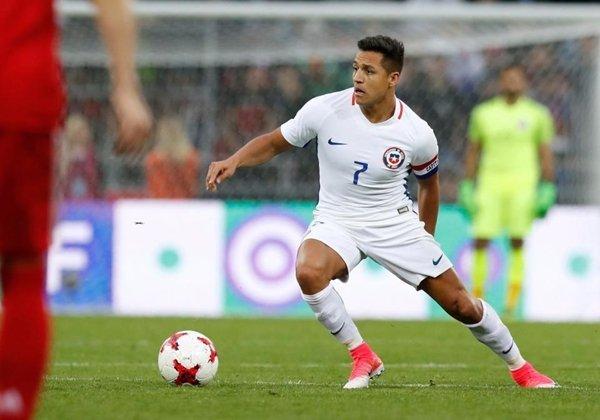 Sanchez hiện đang cùng Chile chuẩn bị cho Confederations Cup ở Nga