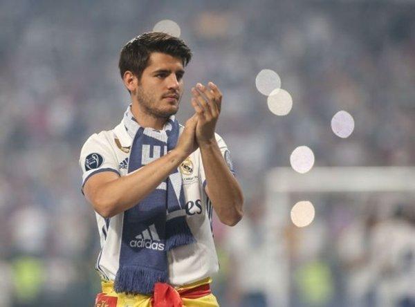 M.U đạt được thỏa thuận mua Alvaro Morata với phí chuyển nhượng 64,1 triệu bảng