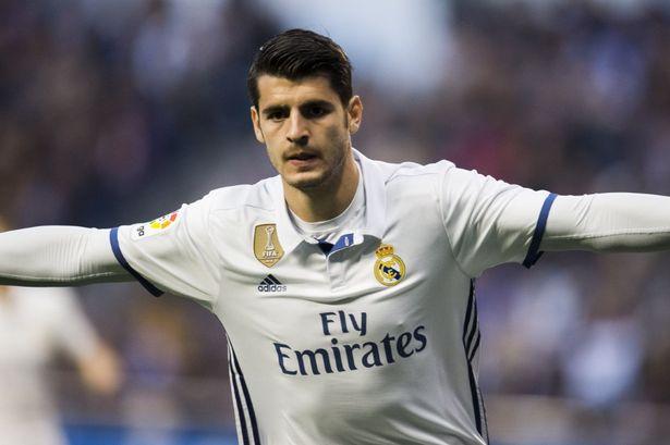 Alvaro Morata là cái tên khác trong danh sách tuyển mộ của HLV Jose Mourinho