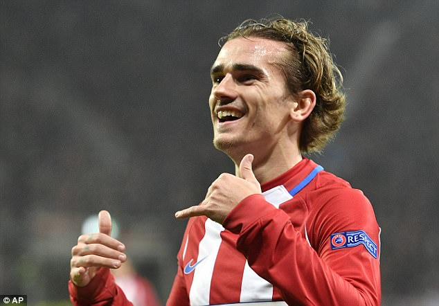 Antoine Griezmann gia hạn hợp đồng ở lại Atletico Madrid đến năm 2022