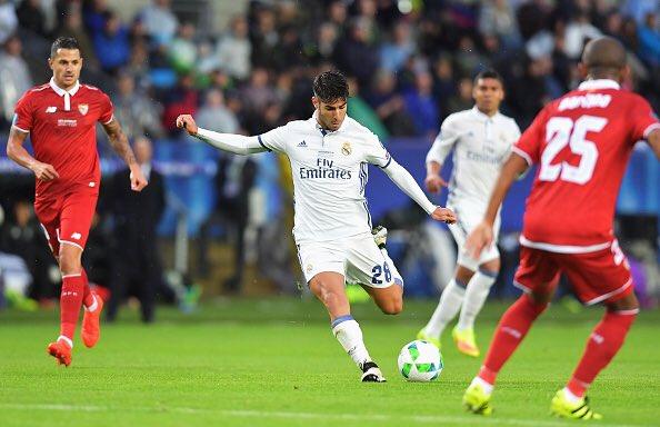 Tiền vệ người Tây Ban Nha ghi bàn thắng đầu tiên trong mùa giải của Real Madrid