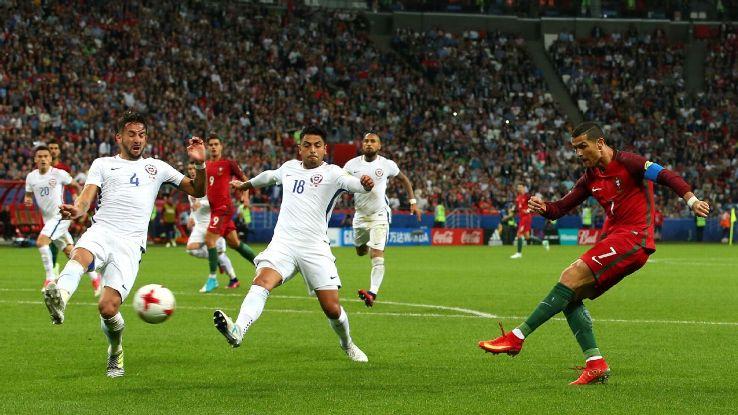 Ronaldo không chứng tỏ được gì trước Chile