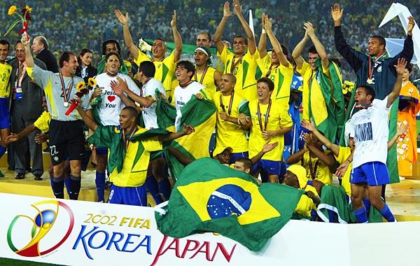 Đội tuyển Brazil lên ngôi vô địch World Cup năm 2002