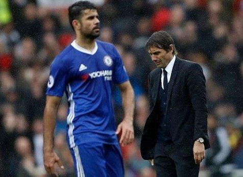 HLV Conte đang tìm người thay thế Diego Costa