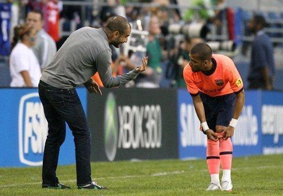 Dani Alves sẽ tái hợp với Pep Guardiola tại Man City