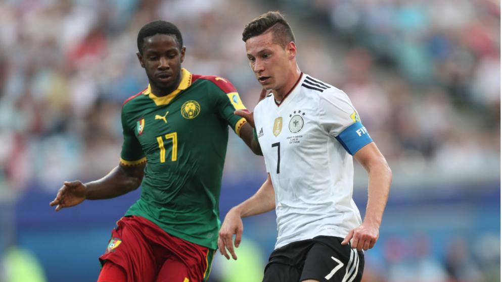 Draxler đã chơi hay trước Cameroon