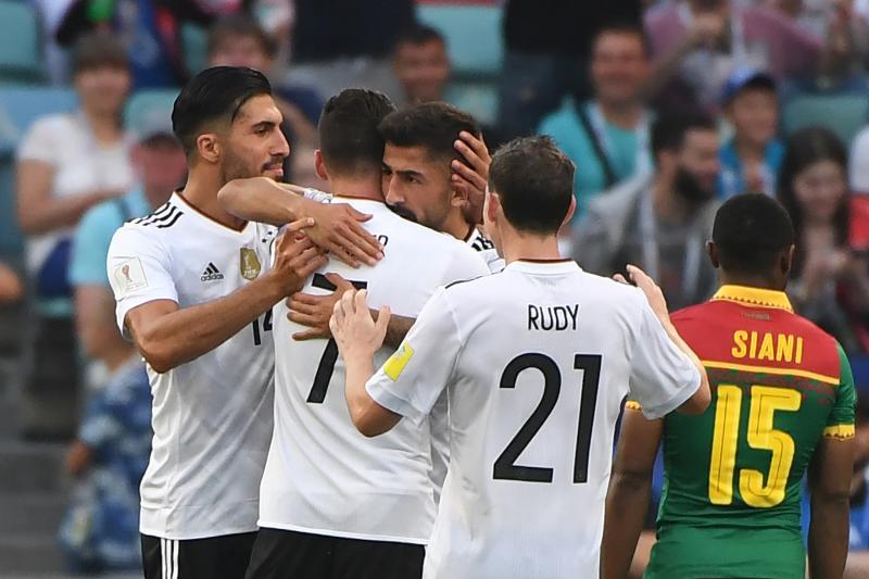 Đức gồm nhiều cầu thủ trẻ
