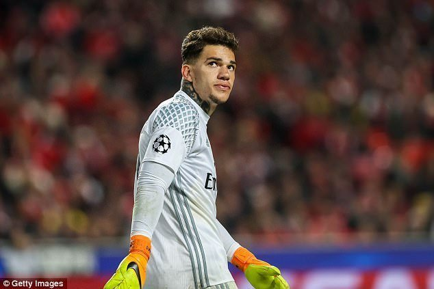 Benfica chính thức xác nhận thương vụ để Ederson chuyển sang Premier League thi đấu cho Man City