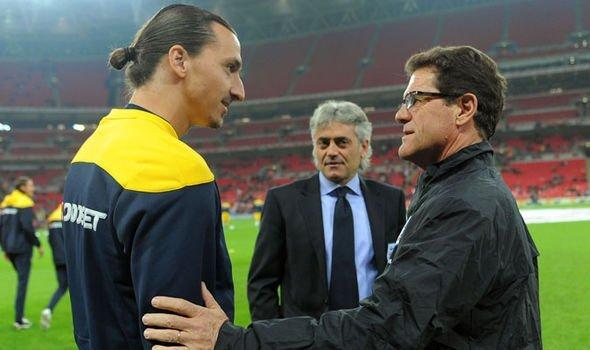 Fabio Capello khả năng sẽ mời Ibrahimovic gia nhập Jiangsu Suning
