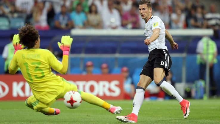 Goretzka ghi 2 bàn vào lưới Mexico