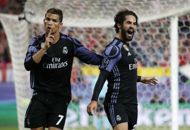 Isco và Ronaldo chơi rất nổi bật trong mùa này
