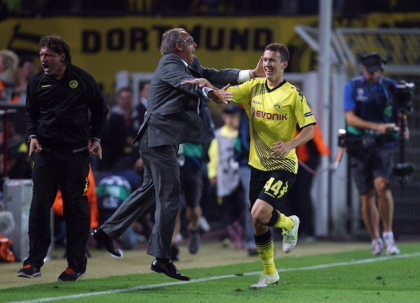 Ivan Perisic trong màu áo của Dortmund