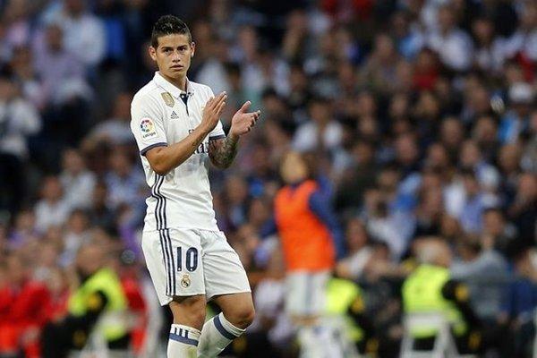Rodriguez gia nhập Real từ Monaco vào mùa hè năm 2014