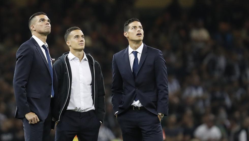 James Rodriguez không được đăng ký danh sách thi đấu trận chung kết Champions League