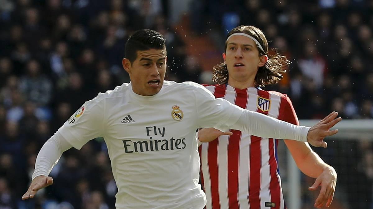 James Rodriguez và Filipe Luis là 2 trong số những cầu thủ mới nhất bị đưa vào diện kiểm tra