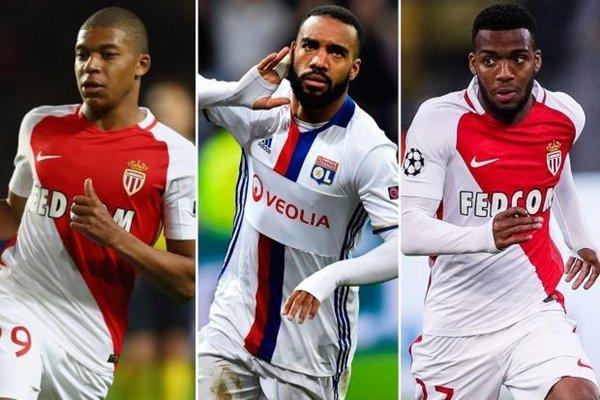 Kylian Mbappe, Alexandre Lacazette và Thomas Lemar là 3 mục tiêu tuyển mộ hàng đầu của Arsenal