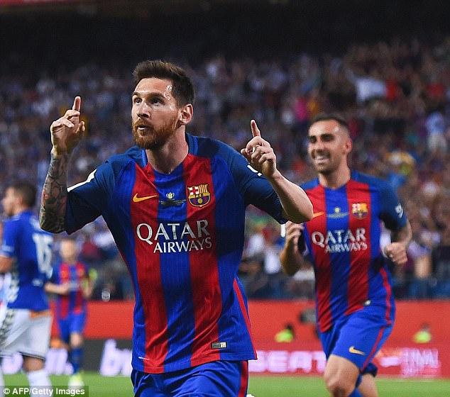 Lionel Messi cũng có giá rất cao