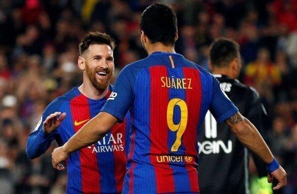 Tuy nhiên, Luis Suarez mới là cầu thủ có công lớn trong việc thuyết phục Messi tiếp tục gắn bó tương lai với Barcelona