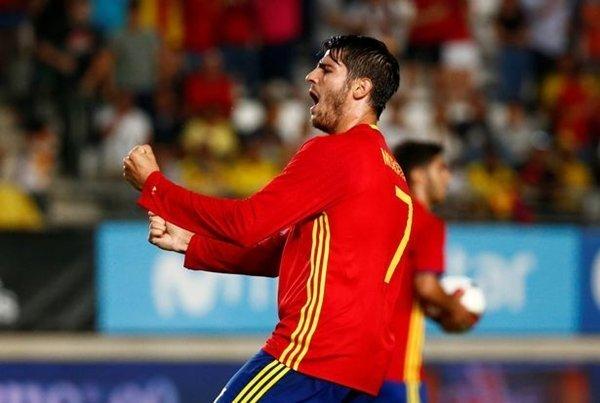 Alvaro Morata của Real Madrid là mục tiêu khác của Quỷ đỏ