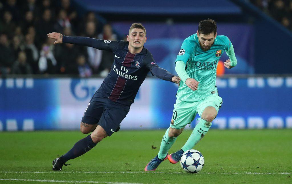 Messi đã từng đối đầu Verratti và anh rất thích lối đá của tiền vệ người Italia
