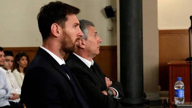 Trước Ronaldo, Messi và cha đã bị Tòa án Tây Ban Nha tuyên phạt 21 tháng tù và 2,9 triệu euro tiền phạt