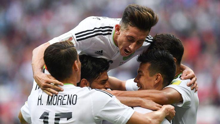 Mexico cho thấy họ là tập thể mạnh