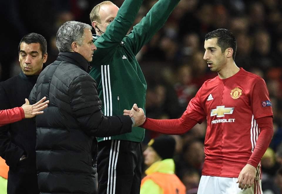 Mkhitaryan đã có mùa giải thành công với Man United