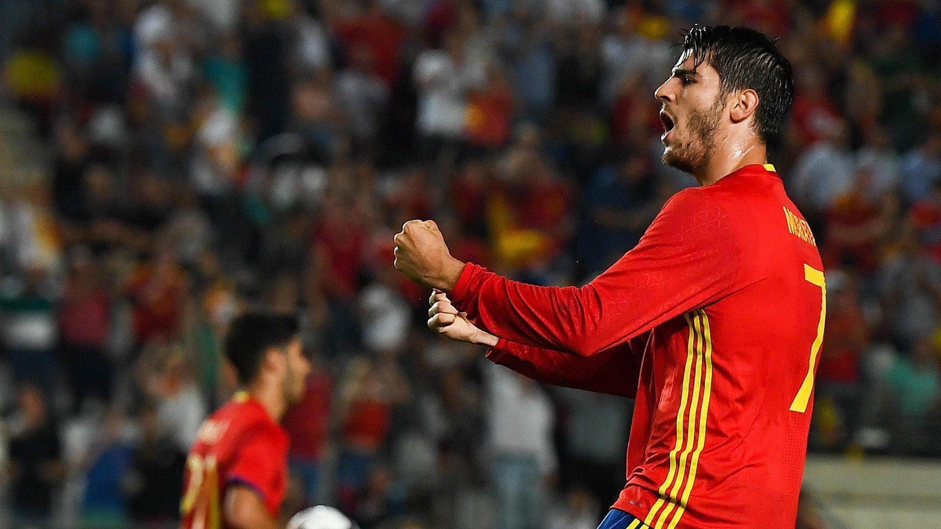 Đặt bút ký vào hợp đồng sanh M.U, Morata sẽ là cầu thủ Tây Ban Nha đắt giá nhất