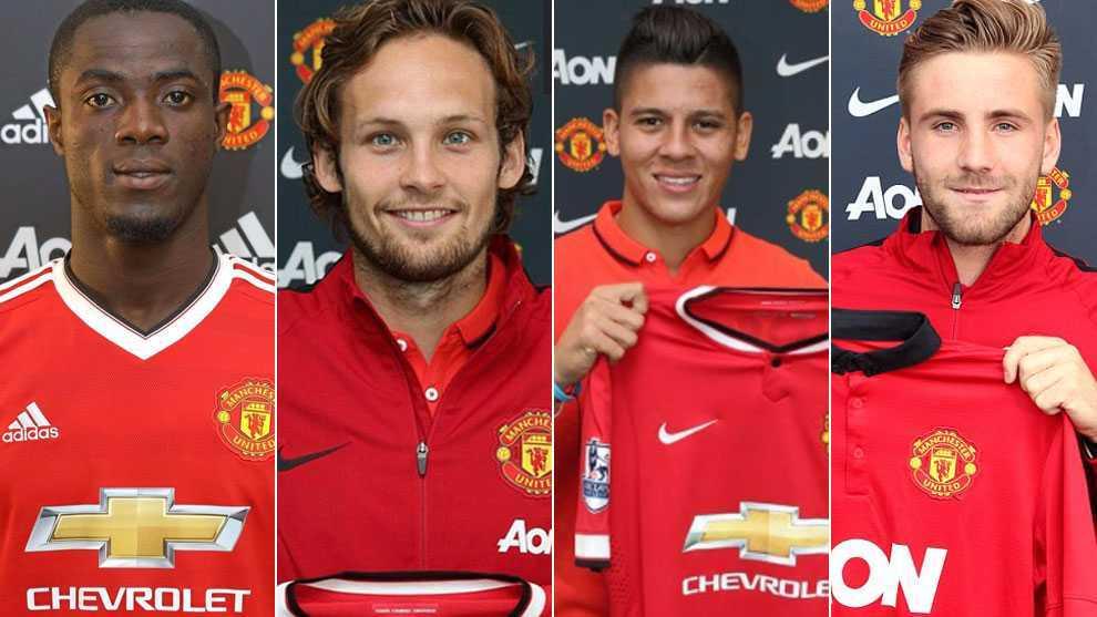 Những hậu vệ mà Man Utd đã mua về trong 3 năm gần đây