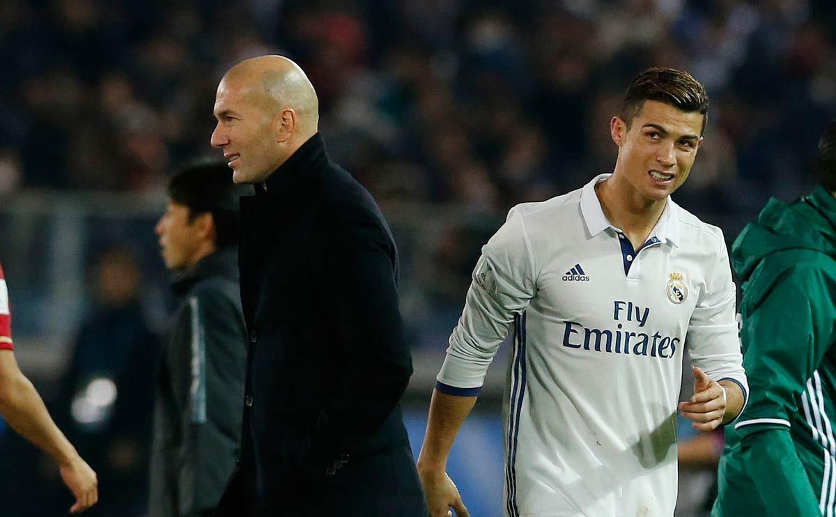 Nhưng nếu Ronaldo vẫn giữ ý định, Zidane chấp nhận để anh chia tay