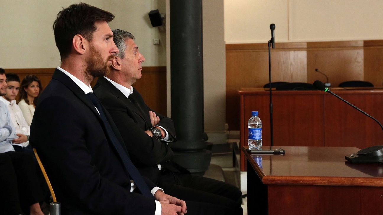 Nộp thêm số tiền 250.000 euro, lý lịch của Messi sẽ trong sạch