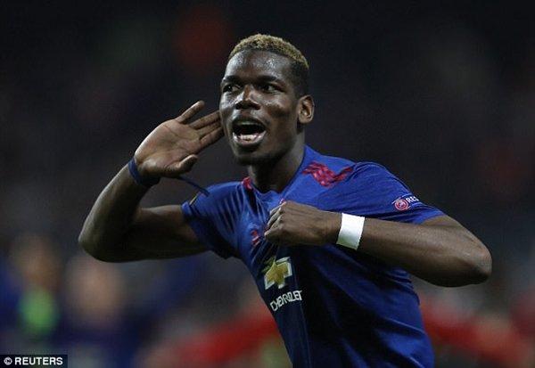 Pogba gia nhập M.U với mức phí chuyển nhượng kỷ lục 89 triệu bảng