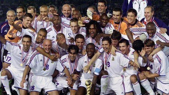 Pháp vô địch năm 2001