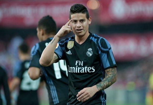 Theo Chủ tịch Real Madrid, Florentino Perez, Rodriguez sẽ ở lại Bernabeu