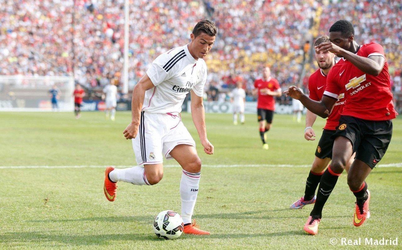 Ronaldo sẽ vắng mặt ở cả 2 trận đấu Real Madrid đối đầu Man United