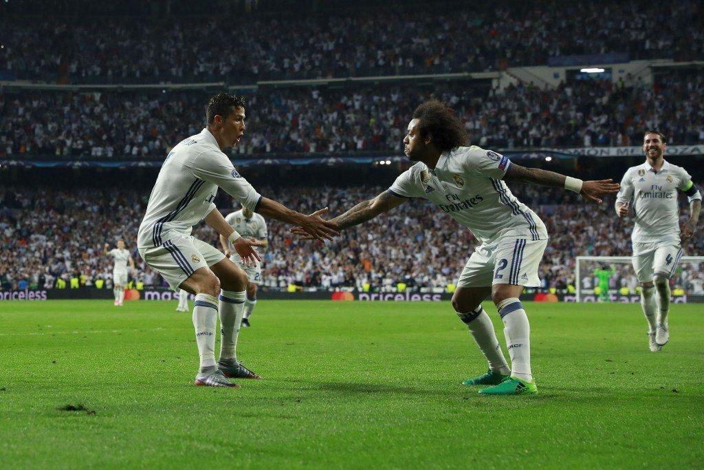 Ronaldo và Marcelo là một cặp rất ăn ý trên sân, rất thân ngoài cuộc sống