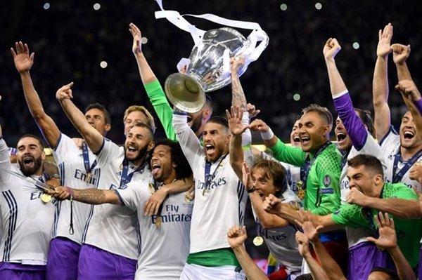 Real Madrid thống trị liên tiếp trong 4 năm trước, nhưng tụt xuống vị trí thứ ba ở bảng xếp hạng mới nhất