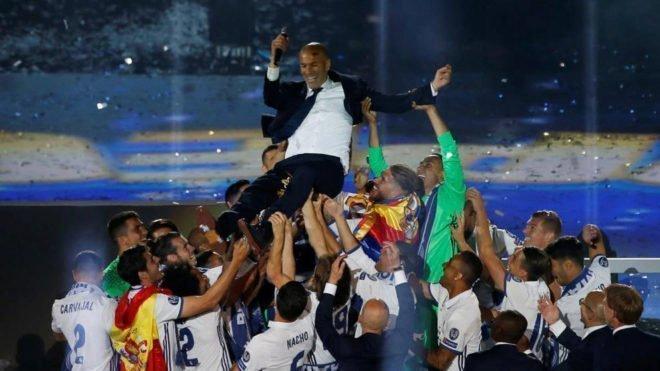 Thành tích mà Zidane có được khiến nhiều HLV thèm muốn