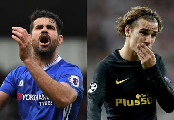 Án phạt của Atletico Madrid ảnh hưởng lớn tới viễn cảnh chuyển nhượng của Diego Costa và Antoine Griezmann